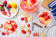 """<p>If you're more into cocktails than a bottle of red or white, these fun drinks will make your Valentine's Day drink of choice feel special. Pink and red drinks here and accounted for, obviously, in the form of mimosas, margaritas, sangria, and more. For more holiday planning, check out our <a href=""""https://www.delish.com/holiday-recipes/valentines-day/g2524/romantic-dinner-for-two/"""" rel=""""nofollow noopener"""" target=""""_blank"""" data-ylk=""""slk:Valentine's Day dinner recipes"""" class=""""link rapid-noclick-resp"""">Valentine's Day dinner recipes</a> and sweet <a href=""""https://www.delish.com/entertaining/g1738/fancy-valentines-dessert-recipes/"""" rel=""""nofollow noopener"""" target=""""_blank"""" data-ylk=""""slk:desserts"""" class=""""link rapid-noclick-resp"""">desserts</a>.</p>"""