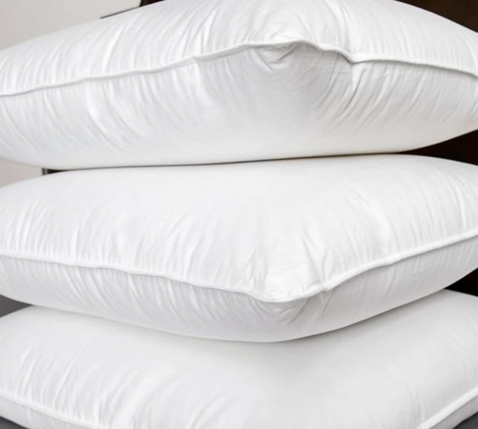 These pillows are soft, yet supportive. (Photo: Brooklinen)
