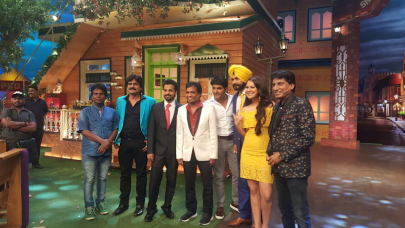 Raju Srivastava Shoots With Kapil Sharma for The Kapil Sharma Show