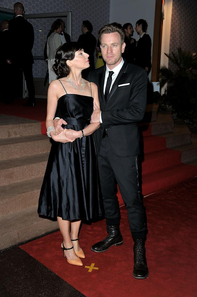CANNES, FRANCE - MAY 27:  Jury member Ewan McGregor and wife Eve Mavrakis attend the Winners Dinner Arrivals during the 65th  Annual Cannes Film Festival on May 27, 2012 in Cannes, France.  (Photo by Pascal Le Segretain/Getty Images)