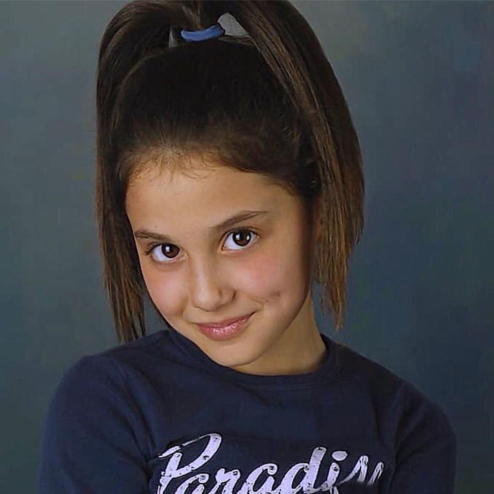 """if anything .... she's consistent,"" the singer <a href=""https://twitter.com/ArianaGrande/status/1162044758312853505"">tweeted</a> alongside a photo of her rocking her signature high pony as a little girl."