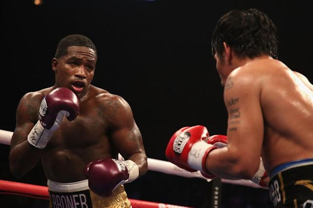 Broner simply flailed away for most of the fight with a slapping jab that never seemed to connect (AFP Photo/Christian Petersen)