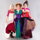 """<p>Is there any trio more hilarious or Halloween-appropriate than the Sanderson Sisters? Step into the witchy shoes of Sarah, Winifred, and Mary with this idea.</p><p><strong>Get the tutorial at <a href=""""https://www.brit.co/hocus-pocus-halloween-costume/"""" rel=""""nofollow noopener"""" target=""""_blank"""" data-ylk=""""slk:Brit + Co"""" class=""""link rapid-noclick-resp"""">Brit + Co</a>.</strong></p><p><strong><a class=""""link rapid-noclick-resp"""" href=""""https://go.redirectingat.com?id=74968X1596630&url=https%3A%2F%2Fwww.walmart.com%2Fsearch%2F%3Fquery%3Dhocus%2Bpocus%2Bcostumes&sref=https%3A%2F%2Fwww.thepioneerwoman.com%2Fhome-lifestyle%2Fcrafts-diy%2Fg37066817%2Fhalloween-costumes-for-3-people%2F"""" rel=""""nofollow noopener"""" target=""""_blank"""" data-ylk=""""slk:SHOP HOCUS POCUS COSTUMES"""">SHOP HOCUS POCUS COSTUMES</a><br></strong></p>"""