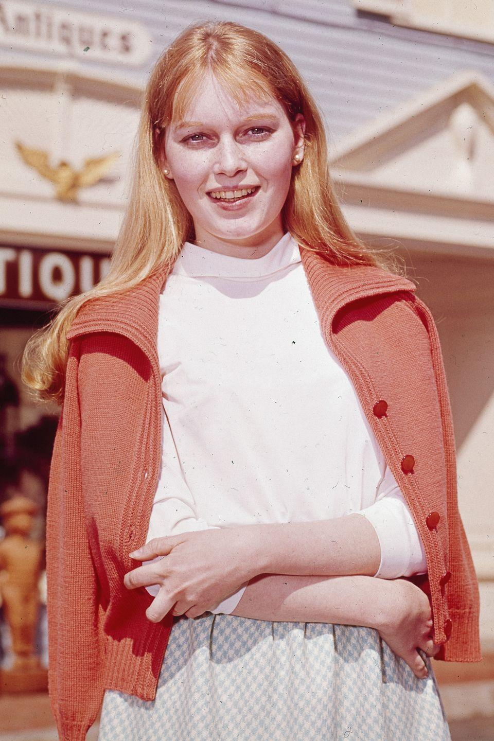 <p>Farrow's first major role was as Allison MacKenzie on the soap opera, <em>Peyton Place</em>. The drama, set in a small idyllic town, was TV's first prime time soap opera. The show ran for five seasons, but Farrow left after two years. </p>