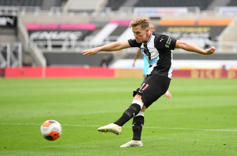 Newcastle's Ritchie to undergo shoulder surgery