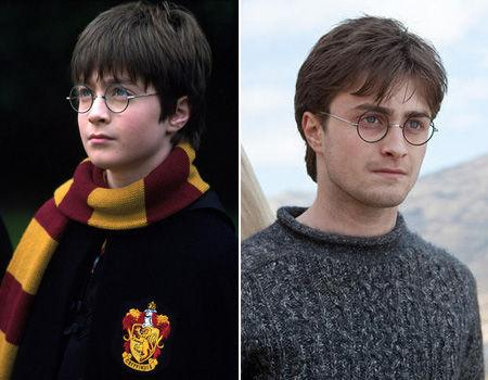 """<p>With """"Harry Potter and the Deathly Hallows Part 1"""" in cinemas this week, we thought we'd take a look back at the stars to see how they've grown up.        Daniel Radcliffe stepped into Harry Potter's shoes aged 11, taking on the titular role in """"Harry Potter and the Philosopher's Stone"""" and subsequent """"Harry Potter"""" films. Fast forward 10 years and Daniel is all grown up, developing a body of work both on-screen and on-stage including Broadway, TV and indie films. And what of Harry in """"Deathly Hallows?"""" A perilous mission awaits the young wizard in his efforts to destroy the evil Lord Voldemort.</p>"""