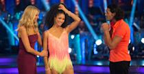 "<p>Next up is Capital Radio host Vick Hope who upon her <em>Strictly </em>elimination accused the dance competition show of being 'fixed' and said she struggled to understand her <em>Strictly </em>pro partner Italian Graziano Di Prima. This apparently didn't go down well with the Beeb, and <a rel=""nofollow"" href=""https://uk.news.yahoo.com/vick-hope-banned-future-bbc-shows-strictly-fix-claims-100115104.html?bcmt=1"" data-ylk=""slk:she was reportedly banned from returning from the show or ever appearing on the BBC again;outcm:mb_qualified_link;_E:mb_qualified_link;ct:story;"" class=""link rapid-noclick-resp yahoo-link"">she was reportedly banned from returning from the show or ever appearing on the BBC again</a>. </p>"