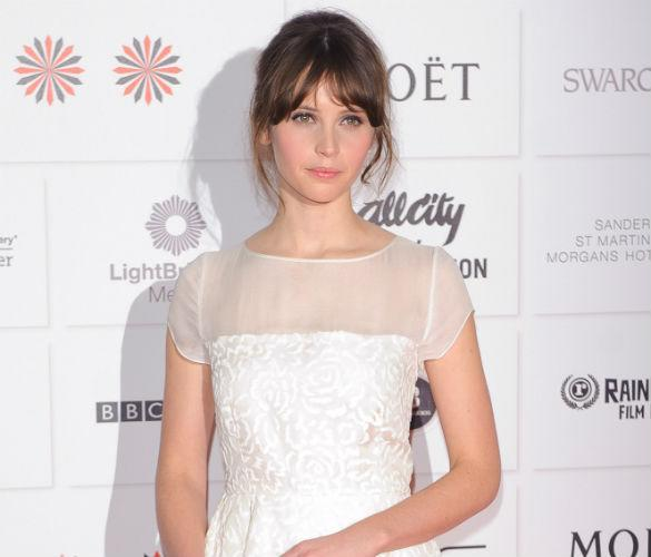 Felicity Jones 'Excited' By Going Naked For 'Fifty Shades Of Grey' Role