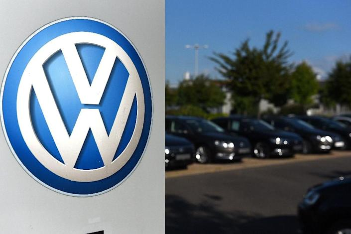 The crisis broke after Volkswagen revealed that 11 million of its diesel vehicles worldwide are equipped with so-called defeat devices (AFP Photo/Patrik Stollarz)