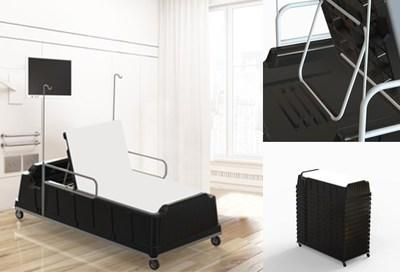 TriEnda's new Emergency & Disaster Relief Bed