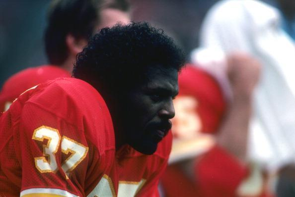 """<a class=""""link rapid-noclick-resp"""" href=""""/nfl/teams/kan/"""" data-ylk=""""slk:Kansas City Chiefs"""">Kansas City Chiefs</a> running back Joe Delaney in 1982, less than a year before he died.&nbsp;(Getty Images)"""