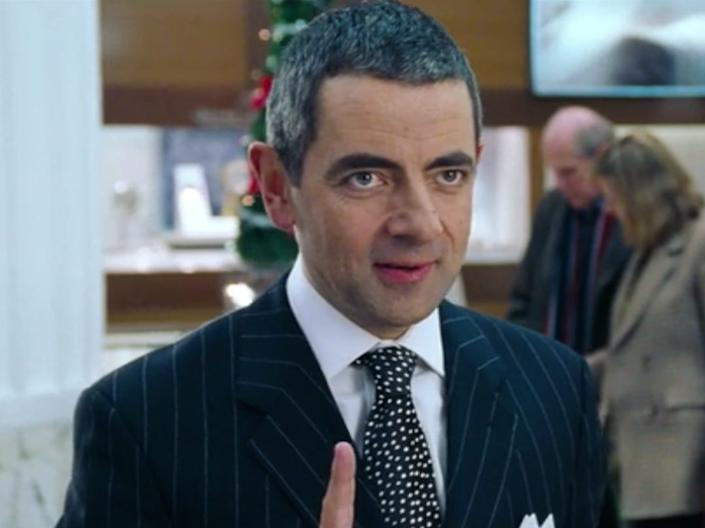 Mr. Bean jewelry guy Love Actually