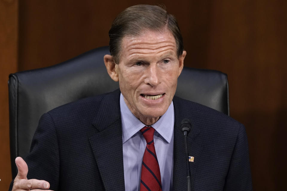 Sen. Richard Blumenthal, D-Conn. (J. Scott Applewhite/AP)