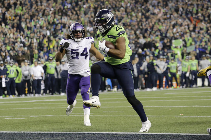 Running duo of Carson, Penny exactly what Seahawks want