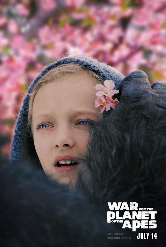 <p>War For The Planet Of The Apes – Nova poster (20th Century Fox) </p>