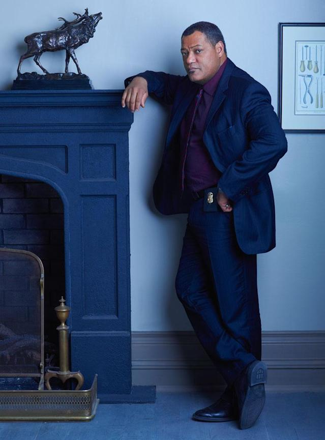"Laurence Fishburne as Agent Jack Crawford in ""Hannibal"" on NBC."