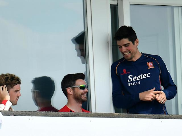 Cook and Anderson were able to spend some together (Getty)