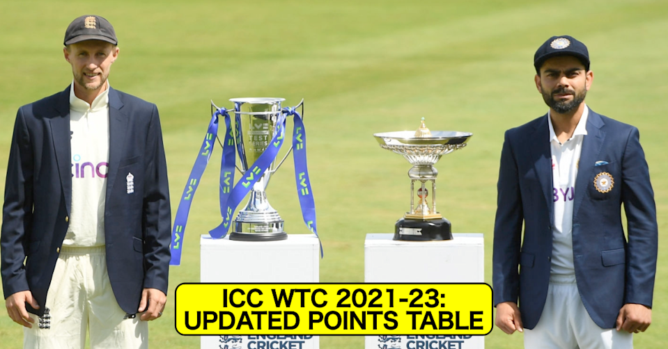 ICC WTC 2021-23: Updated Points Table After England, India Lose Points Due To Slow Over-Rate