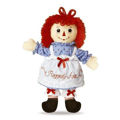 """<p><strong><em>Raggedy Ann Classic Doll,</em></strong><em><strong> $32</strong></em> <a class=""""link rapid-noclick-resp"""" href=""""https://www.amazon.com/Raggedy-Ann-Classic-Doll-25/dp/B0084LO7C4?tag=syn-yahoo-20&ascsubtag=%5Bartid%7C10050.g.35033504%5Bsrc%7Cyahoo-us"""" rel=""""nofollow noopener"""" target=""""_blank"""" data-ylk=""""slk:BUY NOW"""">BUY NOW</a></p><p>Raggedy Ann began as a book character created by American writer Johnny Gruelle, and she was produced as a doll in 1915. The yarn-haired, triangle-nosed doll has largely held up its original design, and her popularity inspired the conception of Ann's brother, <a href=""""https://www.amazon.com/Raggedy-Andy-Classic-Doll-25/dp/B00847O6BK/ref=pd_bxgy_21_img_2?ie=UTF8&psc=1&refRID=7DZN4F0Y05JDNABB6MH0&tag=syn-yahoo-20&ascsubtag=%5Bartid%7C10050.g.35033504%5Bsrc%7Cyahoo-us"""" rel=""""nofollow noopener"""" target=""""_blank"""" data-ylk=""""slk:Raggedy Andy"""" class=""""link rapid-noclick-resp"""">Raggedy Andy</a>, in 1920.</p>"""