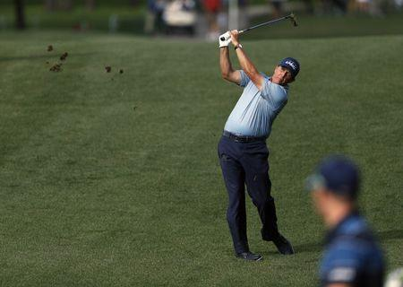 Mar 30, 2017; Humble, TX, USA; Phil Mickelson during the first round of the Shell Houston Open at Golf Club of Houston - The Tournament Course. Mandatory Credit: Erich Schlegel-USA TODAY Sports