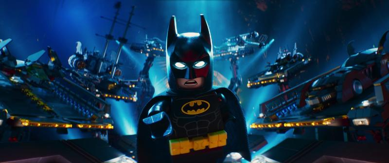 Batman (Will Arnett) and his toys in The Lego Batman Movie. (Warner Bros Pictures)