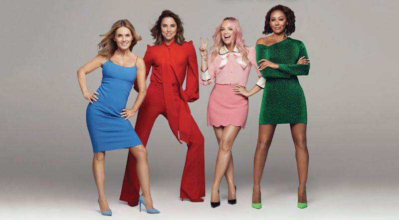 The newly-reunited Spice Girls (Photo: Spice Girls)