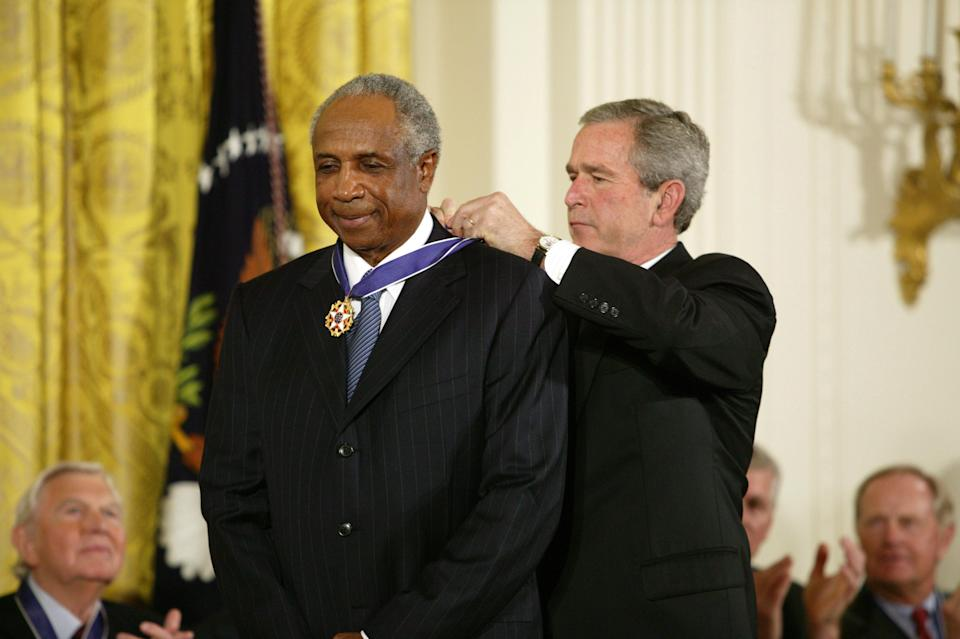 Hard-guy Frank Robinson was one of the toughest players who ever lived. (Getty Images)