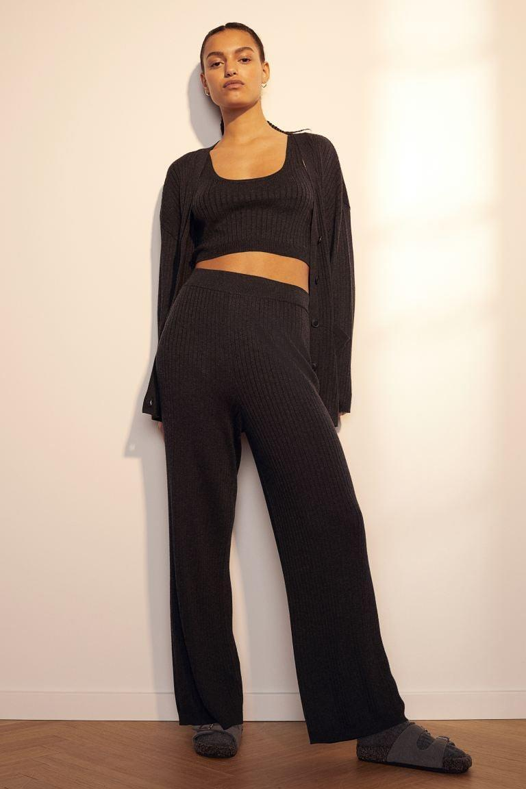 """<p>""""I've bought enough loungewear over this last year to last me a lifetime, but I noticed my collection was lacking an option that I could wear as the weather warms up. Since buying this <span> H&amp;M Rib-knit Top </span> ($18) <span> Pants</span> ($30) set, I've worn it for far too many days in a row and have zero regrets. It's so comfortable but also looks really cute if you just so happen to be called into a last-minute Zoom meeting."""" - JH</p>"""
