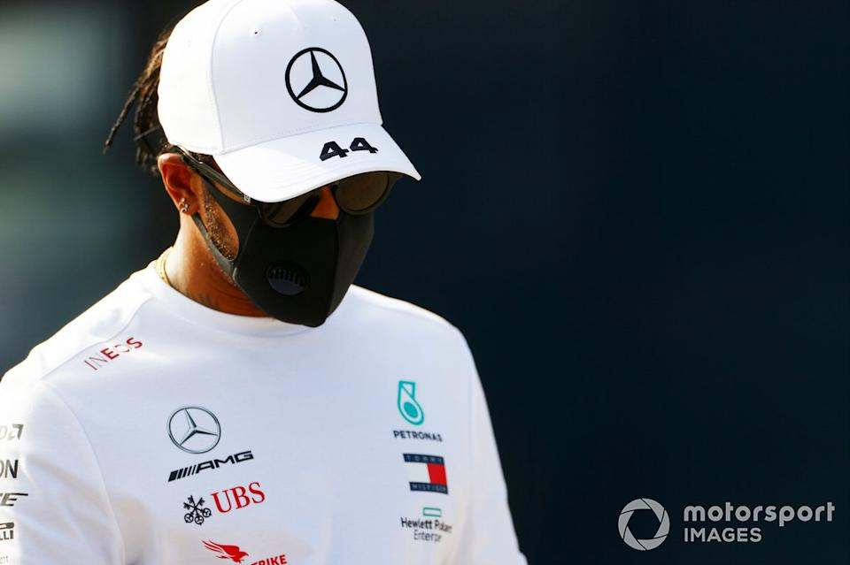 """Lewis Hamilton, Mercedes AMG F1 <span class=""""copyright"""">Andy Hone / Motorsport Images</span>"""
