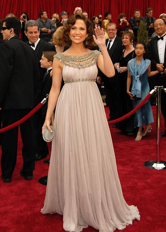 WORST: Jennifer Lopez at the 79th Annual Academy Awards - 02/25/2007