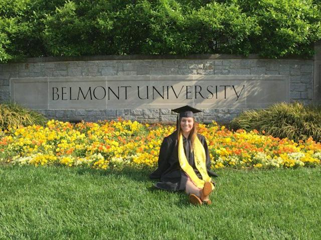 Jenna graduated from Belmont University in May 2017.
