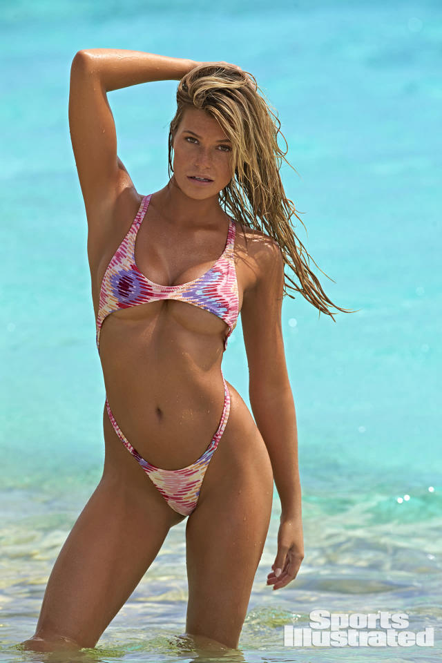 <p>Samantha Hoopes was photographed by Ben Watts in Curacao. Swimsuit by Maui Girl. </p>