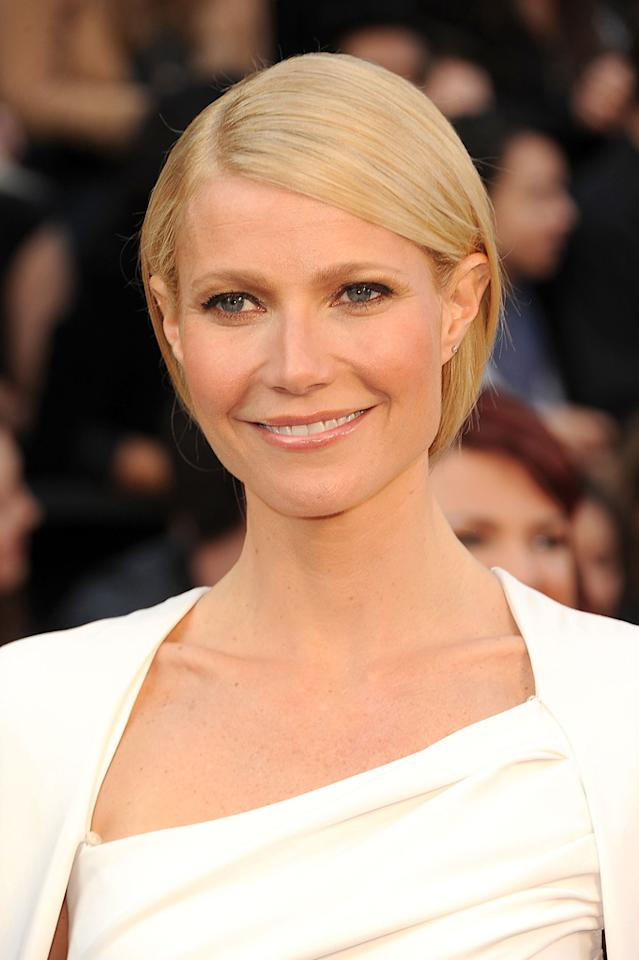Gwyneth Paltrow arrives at the 84th Annual Academy Awards in Hollywood, CA.