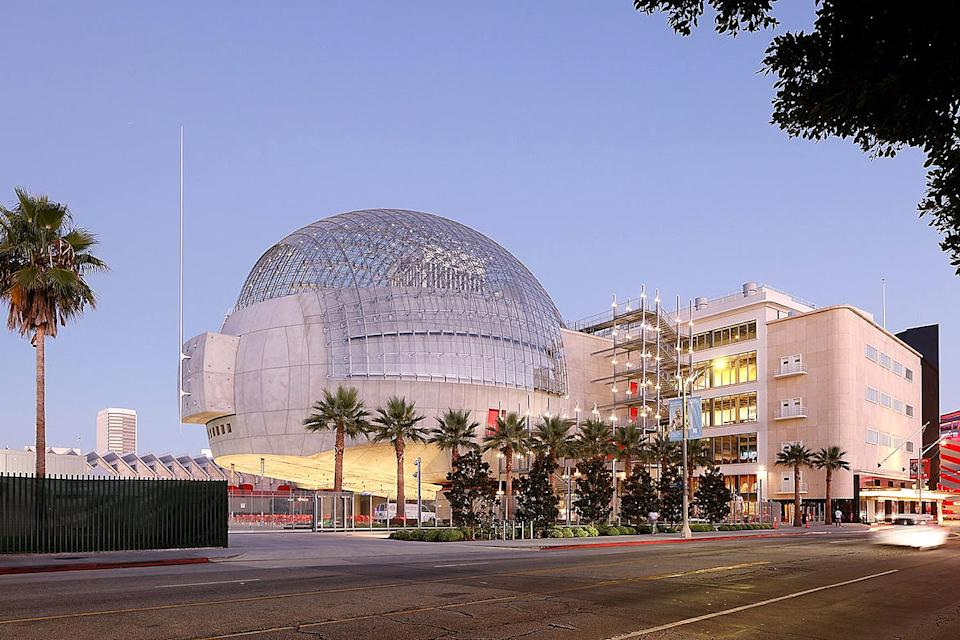 <p>It's here! The long-awaited opening of the Academy Museum of Motion Pictures happens on Sept. 30, offering visitors a peek at some of the most iconic film artifacts from beloved movies past and present. </p> <p>The sphere-shaped David Geffen Theater building was designed by renowned architect Renzo Piano, while the attached Saban Building is a renovated May Company department store that's stood as a Streamline Moderne landmark in L.A. since 1939.</p>