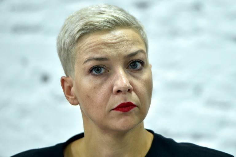 Maria Kolesnikova, a 39-year-old former flute player, has become a symbol of the protest movement in Belarus