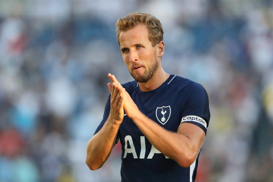 Harry Kane led the Premier League in scoring last season, and Spurs will need him to continue his torrid record. (Getty)