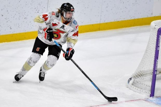 Toronto Six defender Lindsay Eastwood, above, said players spent minimal time together in the Lake Placid bubble due to safety protocols.