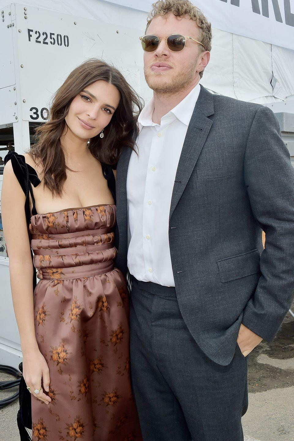 "<p>He may not have had a ring in hand when he popped the Q to Emily, she said on <a class=""link rapid-noclick-resp"" href=""https://people.com/style/emily-ratajkowski-husband-didnt-propose-with-engagement-ring/"" rel=""nofollow noopener"" target=""_blank"" data-ylk=""slk:The Tonight Show Starring Jimmy Fallon""><em>The Tonight Show Starring Jimmy Fallon</em></a>, but that didn't matter. He proposed at New York City restaurant Minetta Tavern after a few weeks of dating. She said yes.</p>"