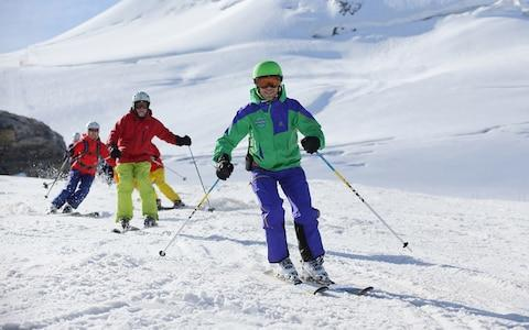 <span>Resorts like Tignes are open during the autumn for courses from the likes of Snoworks</span> <span>Credit: WWW.dynamicpictures.co.uk/PollyABaldwin </span>