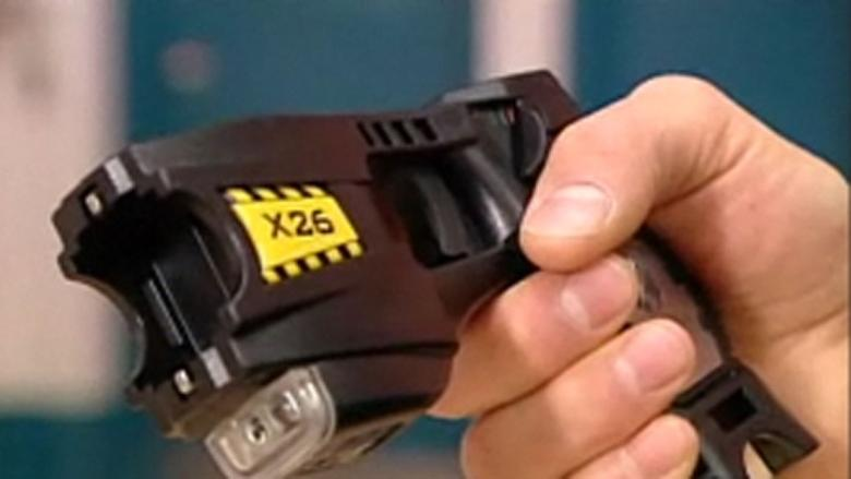 18 charges laid against man Tasered, arrested after threatening several people with pellet gun: police