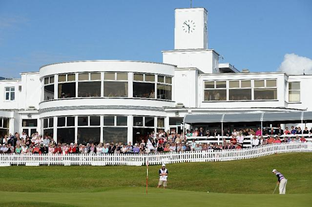 The Royal Birkdale Golf Club in Southport, on August 1, 2010 (AFP Photo/Paul Ellis)