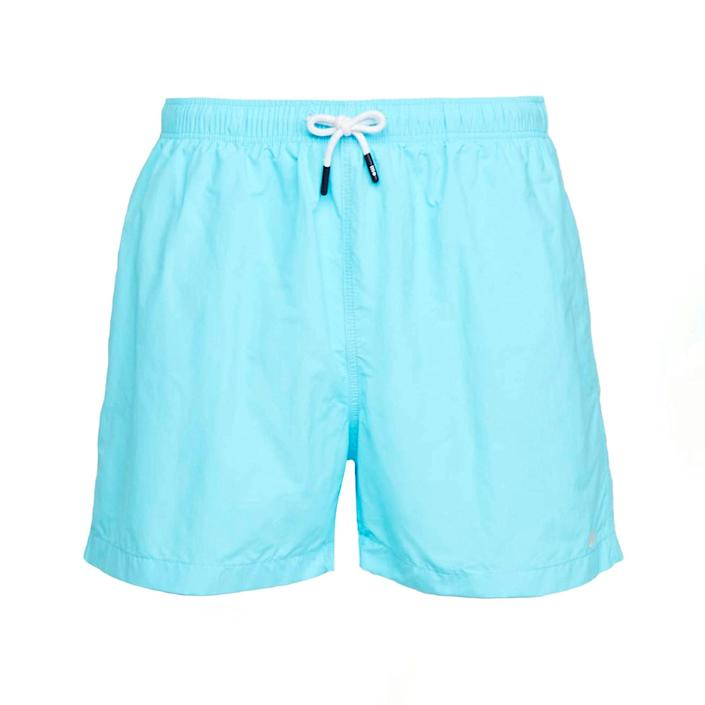 """Because dads deserve cool <a href=""""https://www.glamour.com/story/best-swimsuit-brands?mbid=synd_yahoo_rss"""" rel=""""nofollow noopener"""" target=""""_blank"""" data-ylk=""""slk:swimwear"""" class=""""link rapid-noclick-resp"""">swimwear</a>, too. $88, Amazon. <a href=""""https://www.amazon.com/Solid-Striped-Classic-Trunks-Medium/dp/B09111GKDC/ref="""" rel=""""nofollow noopener"""" target=""""_blank"""" data-ylk=""""slk:Get it now!"""" class=""""link rapid-noclick-resp"""">Get it now!</a>"""