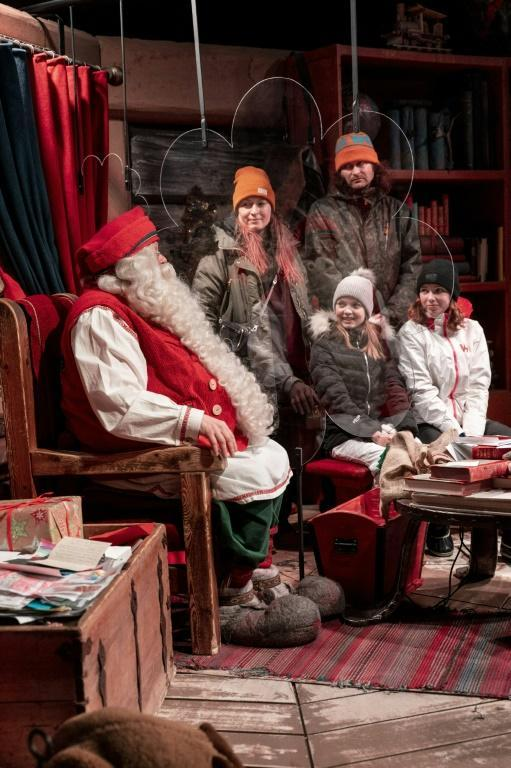 Santa and his elf have read through some of the thousands of Christmas wishlists that despite the pandemic has made it to him