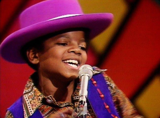 """Michael Jackson performs with the Jackson 5 on """"The Ed Sullivan Show"""" on Dec. 14, 1969."""