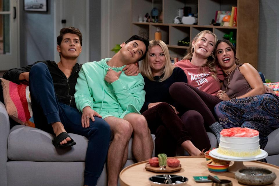 """<strong><em>Pretty Smart</em></strong><em><br></em><br>You may recognise Emily Osment's face from her stint as sidekick Lily in Disney's <em>Hannah Montana</em>, and the actor is now taking the lead in a brand-new comedy series. It follows a neurotic Harvard-educated woman who is forced to move in with her sister and her lovably eccentric friends when she is unceremoniously dumped by her boyfriend. Rampant <em>New Girl</em> energy.<br><br>Available 8th October<span class=""""copyright"""">Photo Courtesy of Netflix.</span>"""