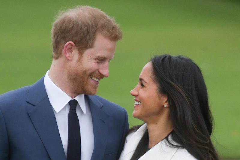 Prince Harry and Meghan Markle (AFP/Getty Images)
