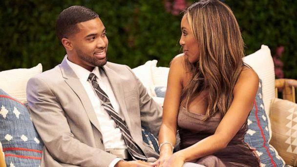 PHOTO: Ivan Hall and Tayshia Adams are pictured on season 16 of ABC's 'The Bachelorette.' (Craig Sjodin/ABC)