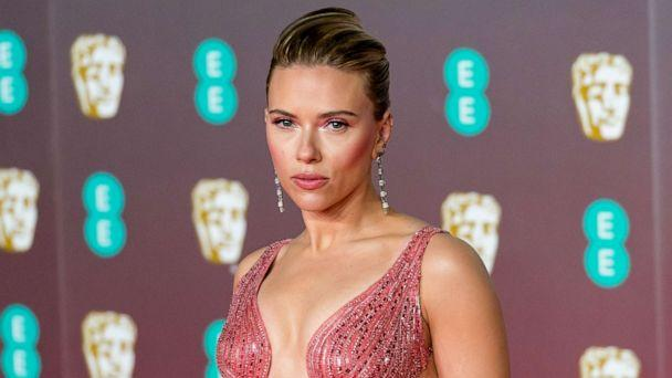 PHOTO: Scarlett Johansson attends the EE British Academy Film Awards ceremony at the Royal Albert Hall, Feb. 2, 2020 in London. (Wiktor Szymanowicz/NurPhoto via Getty Images)