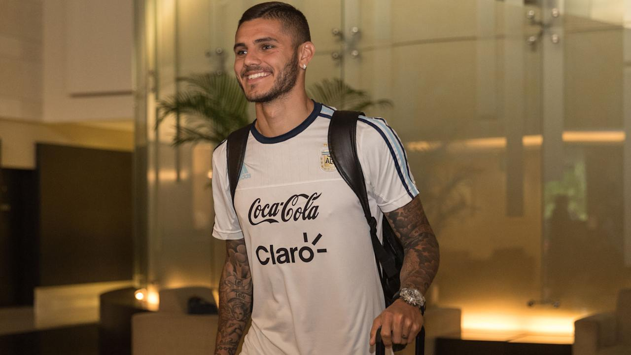 The Inter man has been included in Jorge Sampaoli's squad ahead of upcoming World Cup qualifiers alongside the likes of Paulo Dybala and Sergio Aguero