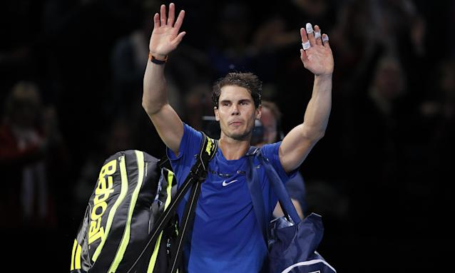 Rafael Nadal the world No1, said he hopes to be fit in time for the Australian Open in January after ending his 2017 season by pulling out of the ATP Tour finals.